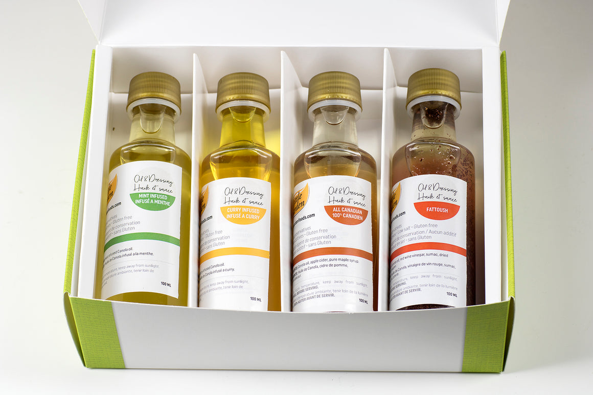 #3 Gift box set of 4 100ml bottles