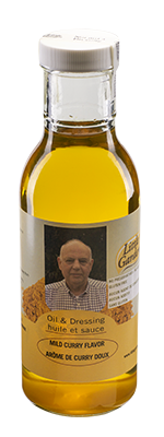 Curry infused canola oil 350ml