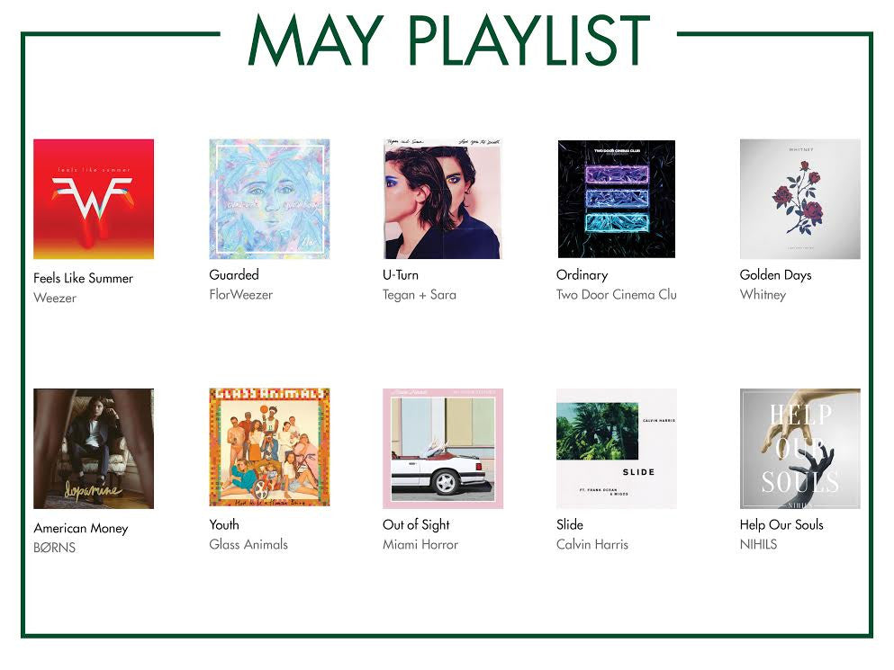 MAY PLAYLIST