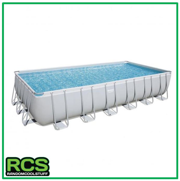 Bestway Swimming pool 7.32m - Steel Frame Pool - SAND FILTER