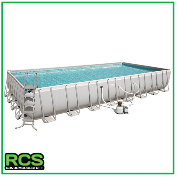 Bestway Swimming pool 9.56m - Steel Framed Pool - SAND FILTER