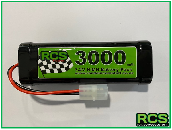 7.2v 3000maH NiMH Battery for RC Cars