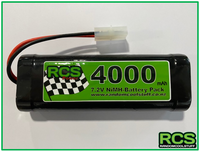 7.2v 4000maH NiMH Battery for RC Cars