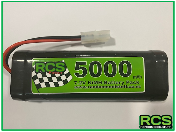 7.2v 5000maH NiMH Battery for RC Cars