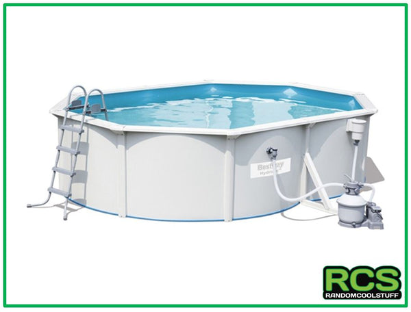 Bestway Hydrium Swimming Pool 5 m - Steel Frame Pool - SAND FILTER