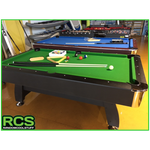 7 Foot Pool Table - Woolly Felt