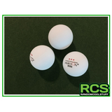 8 x Table Tennis Balls - HUIESON - 3 Stars