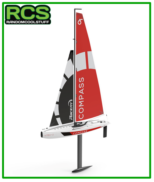 RC Yacht - Racent Compass V791-1 Unibody Sailboat - RTR