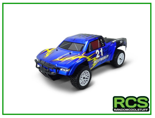 RC Car - HSP Destrier 21 (Blue) - Brushed