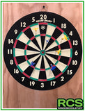 Dart Board - Family Dart game - Official Size 18''x1-1/2''