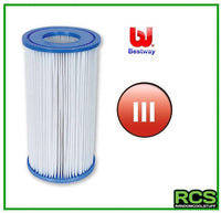 2 x Bestway Filter Cartridge III