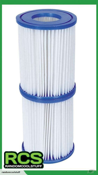2x Bestway Filter Cartridge II