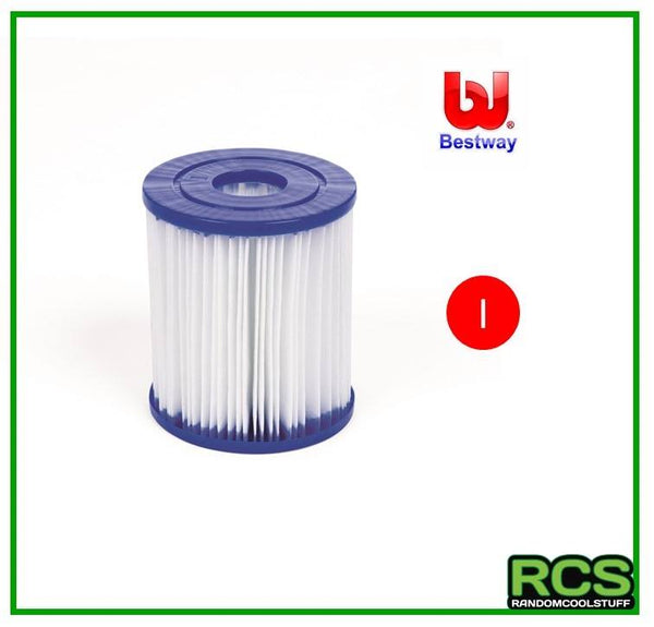 6 x Bestway Filter Cartridge I