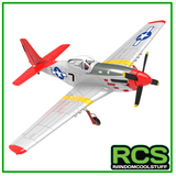 RC Plane - Volantex Mustang P51 Red Tail 768-1 - Brushless RTF