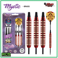Shot Darts - MYSTIC - 23g Brass RED
