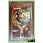 2x - Table Tennis Paddles - Red/Black - 5 Star Paddles