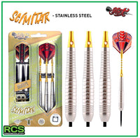 Shot Darts - SCIMITAR - 22g Stainless Steel