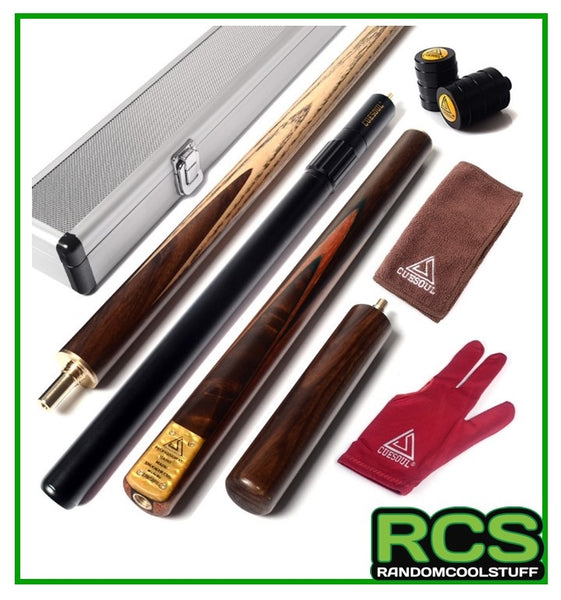 "Snooker/Pool Cue Hand-Spliced 57"" - with Alloy Case - CODE: 304"