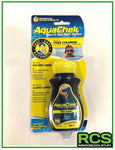 AquaChek test strips.
