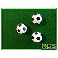 3 x Table Soccer balls - 36mm