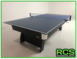 Table Tennis Top - 2 piece with net - EVA base (For Pool Table)