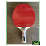 Table Tennis Paddle - Red/Black - 5 Star