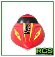 RC Boat - Vector 30 795-3 (Red and Yellow) - RTR