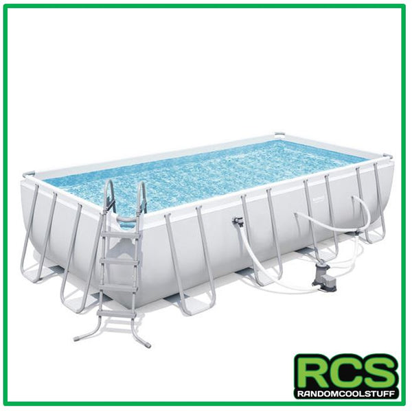 Bestway Swimming pool 5.49m - Steel Framed Pool - SAND FILTER
