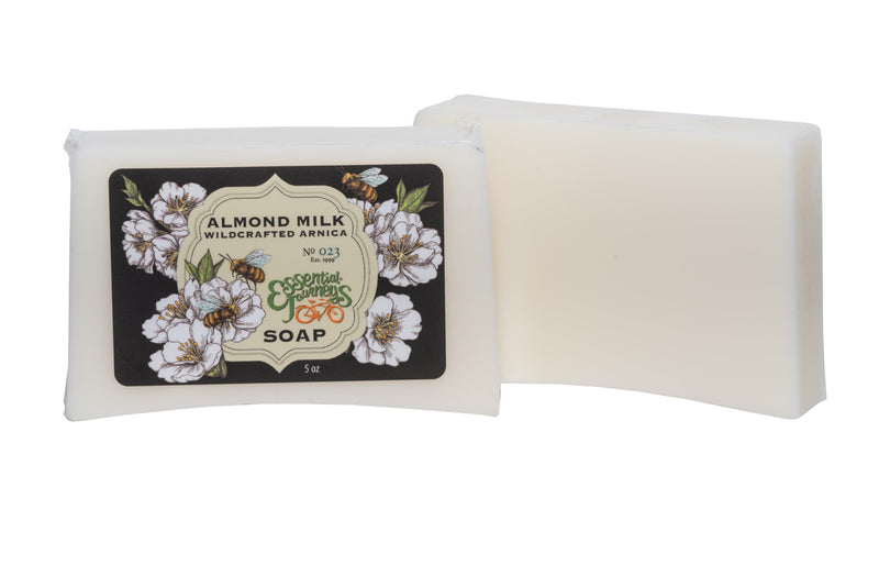 ALMOND MILK SOAP 5 oz. ~ INFUSED WITH ARNICA
