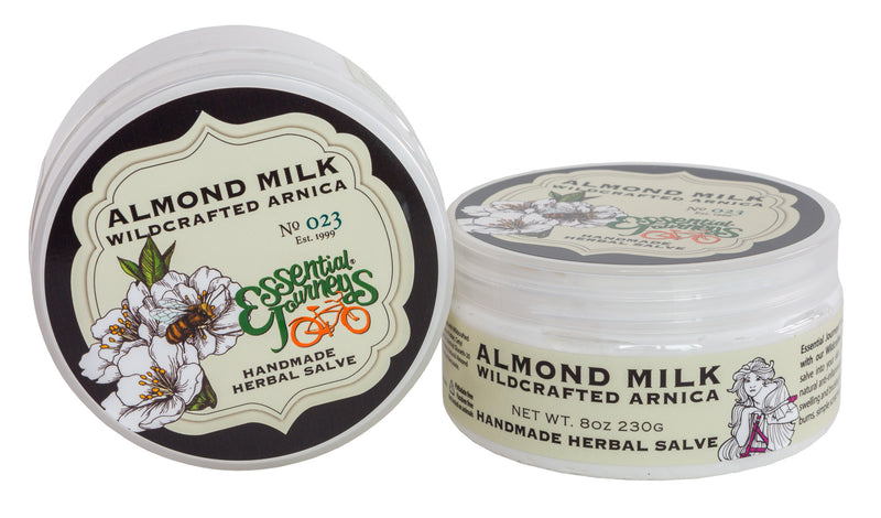 ALMOND ARNICA SALVE 8 oz. ~ ALMOND MILK