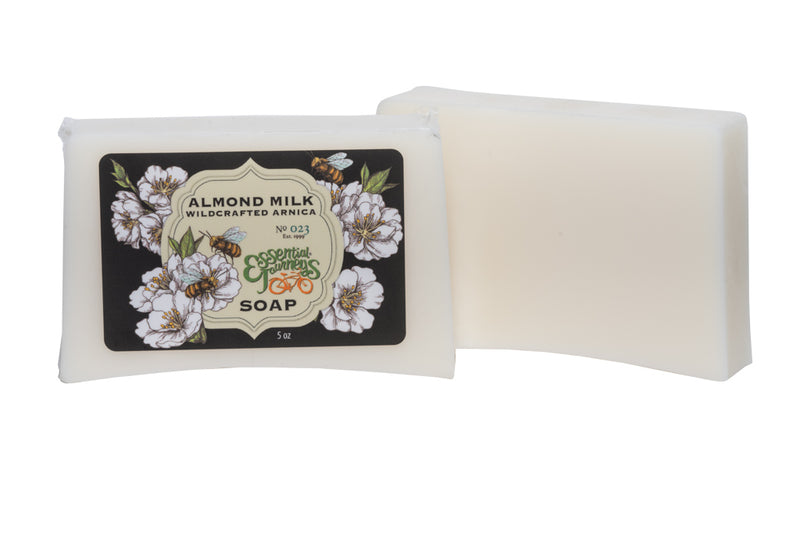 ALMOND MILK & ARNICA SOAP SLICE 5 oz. - WHOLESALE