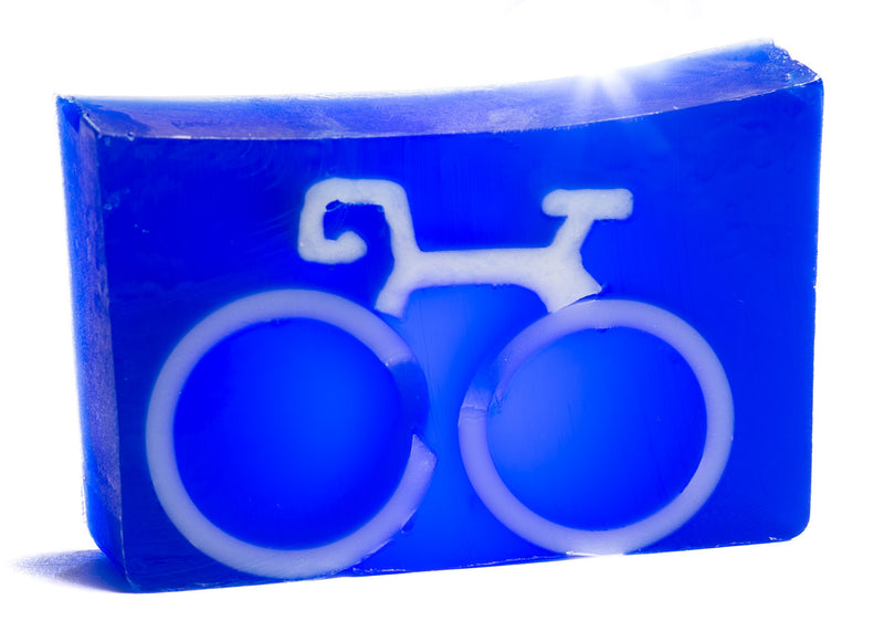 BICYCLE SOAP SLICE 5.5 oz. - WHOLESALE