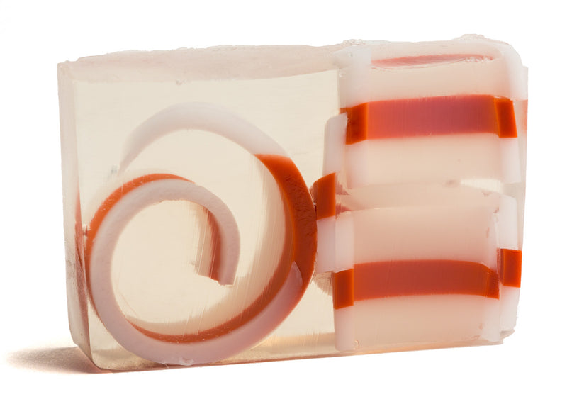CANDY CANE SOAP SLICE 5.5 oz.