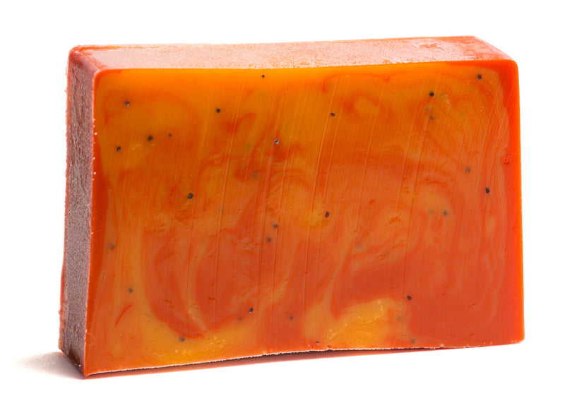 CRANBERRY ORANGE POPPY SEED SOAP SLICE 5.5 oz.