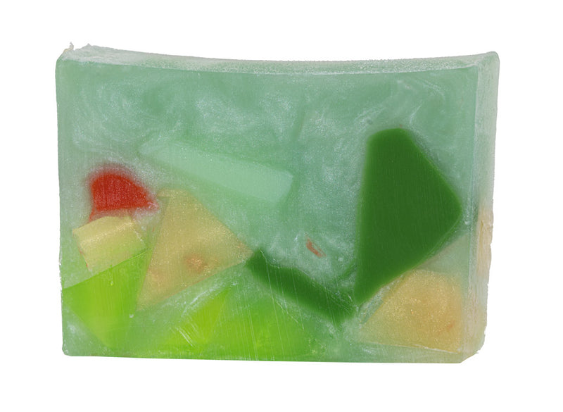 GREEN PHANTOM QUARTZ SOAP SLICE 5.5 oz.