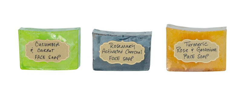 3 PACK of FACE SOAPS  6 oz.