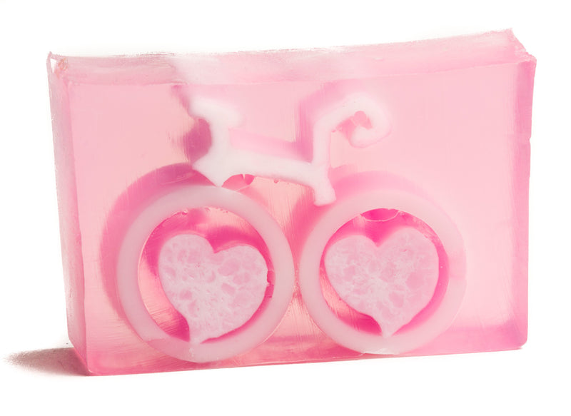 GRAPEFRUIT BIKE LOVE SOAP SLICE 5.5 oz. - WHOLESALE