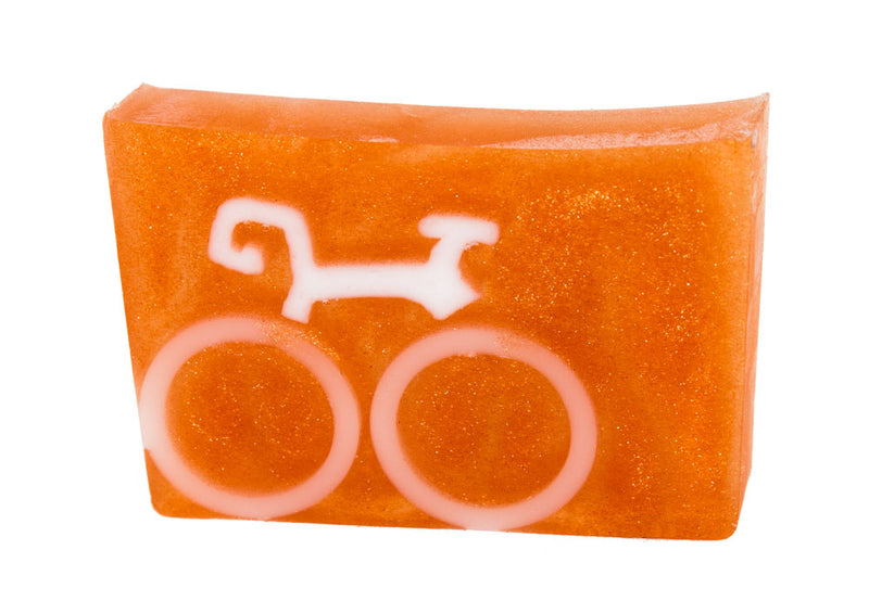 GOLDEN BICYCLE SOAP SLICE 5.5 oz.