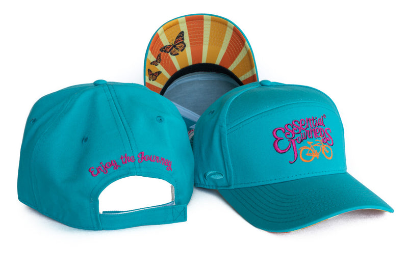 "SUN HAT ~ Essential Journeys  ""Enjoy the Journey"" Head-gear"