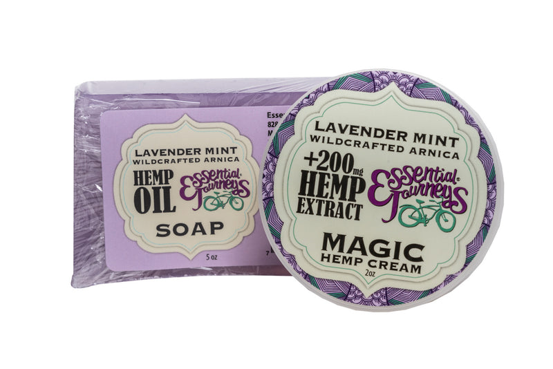 HEMP OIL CREAM & SOAP GIFT SET