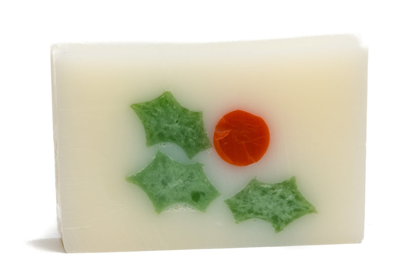 HOLLY BERRIES SOAP SLICE 5.5 oz.