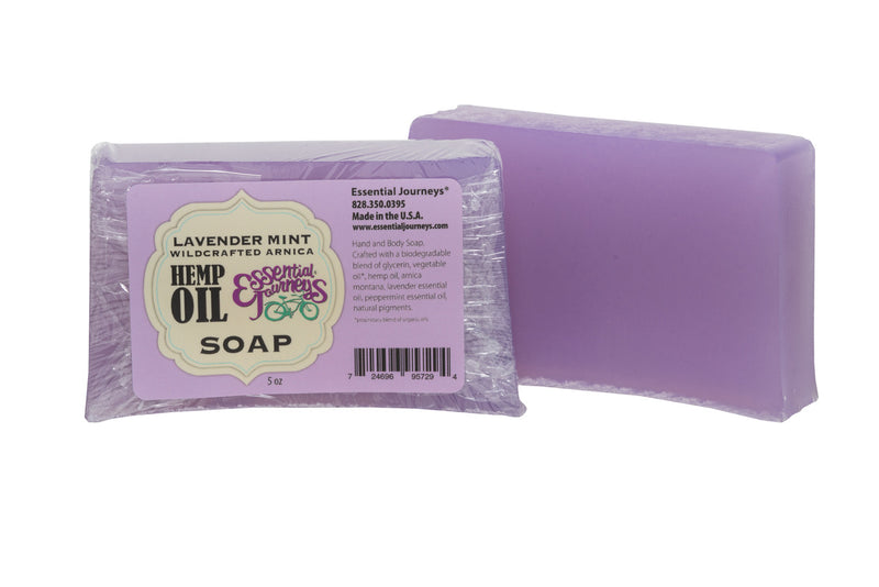 HEMP OIL SOAP 5 oz. ~ LAVENDER MINT