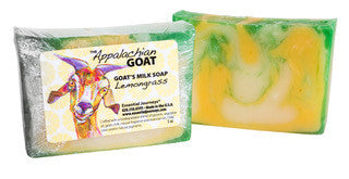 LEMONGRASS GOAT'S MILK SOAP SLICE 5 oz.