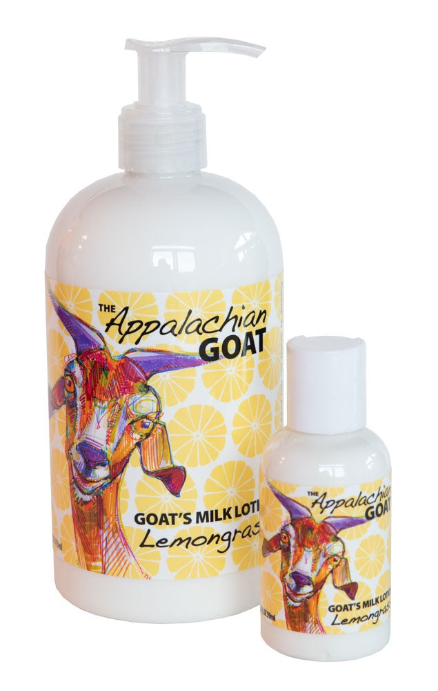 LEMONGRASS GOAT'S MILK LOTION 16 oz & 2 oz