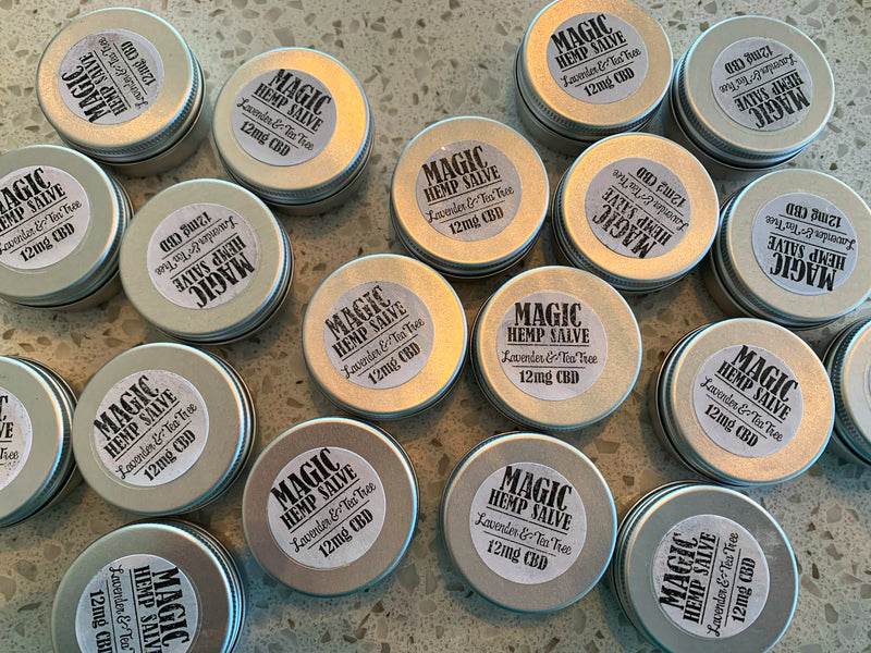 MAGIC HEMP SALVE 0.5 oz. + HEMP EXTRACT ~ NOW AVAILABLE