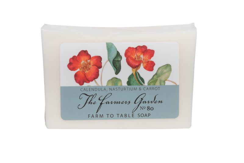 THE FARMERS GARDEN 5 oz. ~ FARM TO TABLE SOAP SLICE