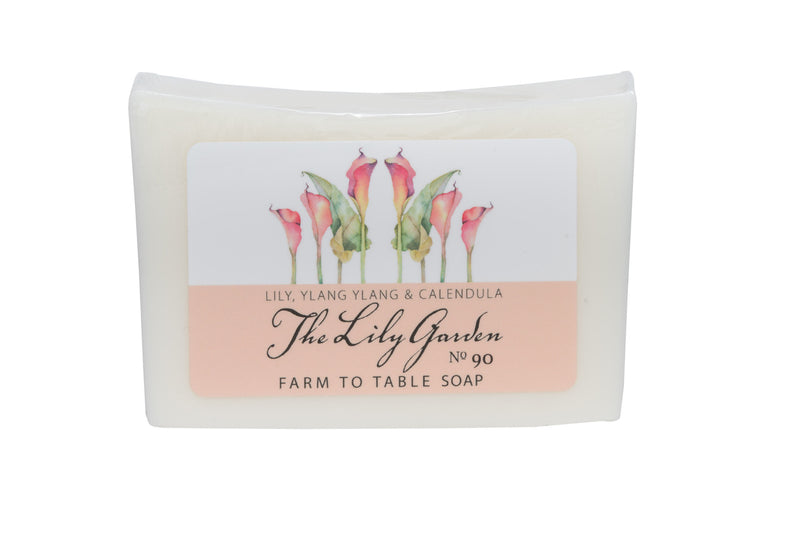 THE LILY GARDEN 5 oz. ~ FARM TO TABLE SOAP SLICE