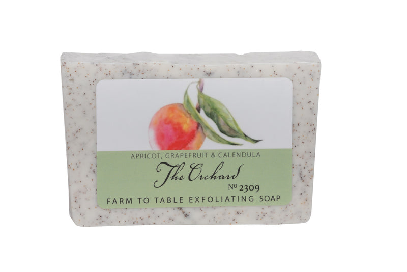 THE ORCHARD 5 oz. ~ FARM TO TABLE EXFOLIATING SOAP SLICE