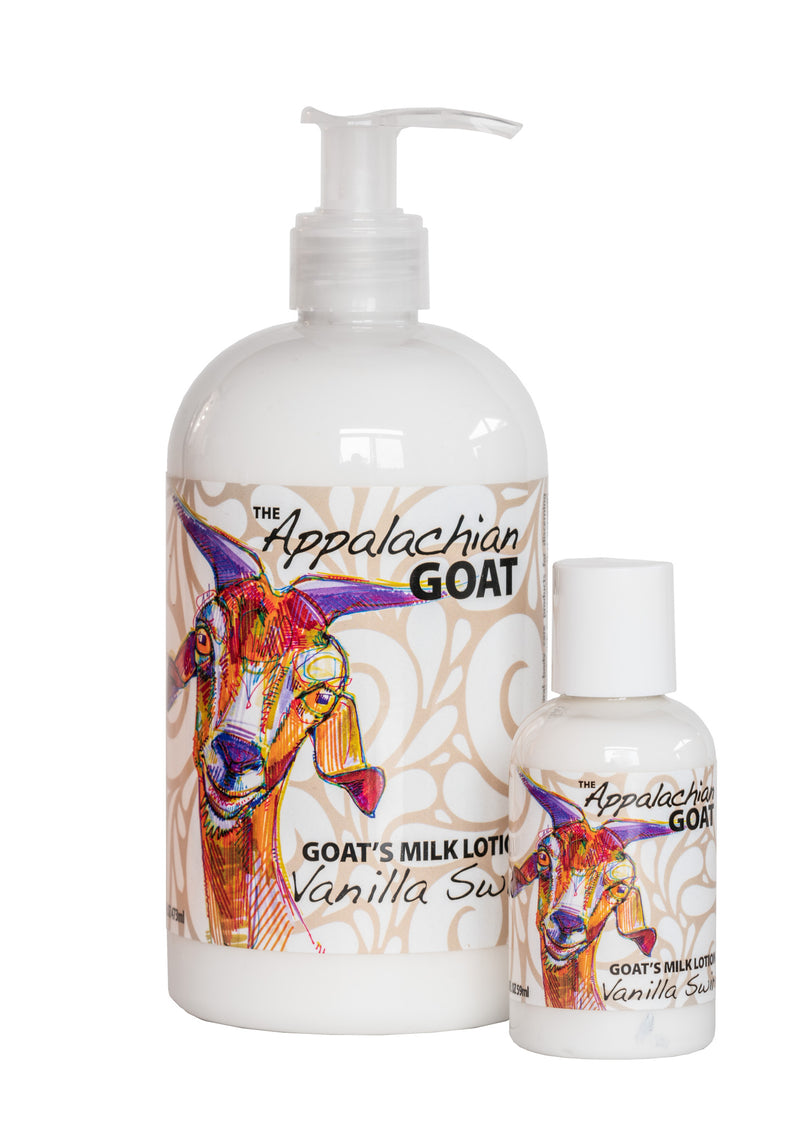 VANILLA GOAT'S MILK LOTION 16 oz & 2 oz