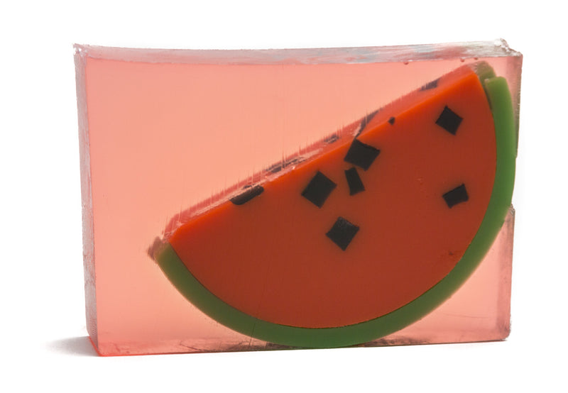 WATERMELON SOAP SLICE 5.5 oz.